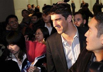 China Phelps Back to China