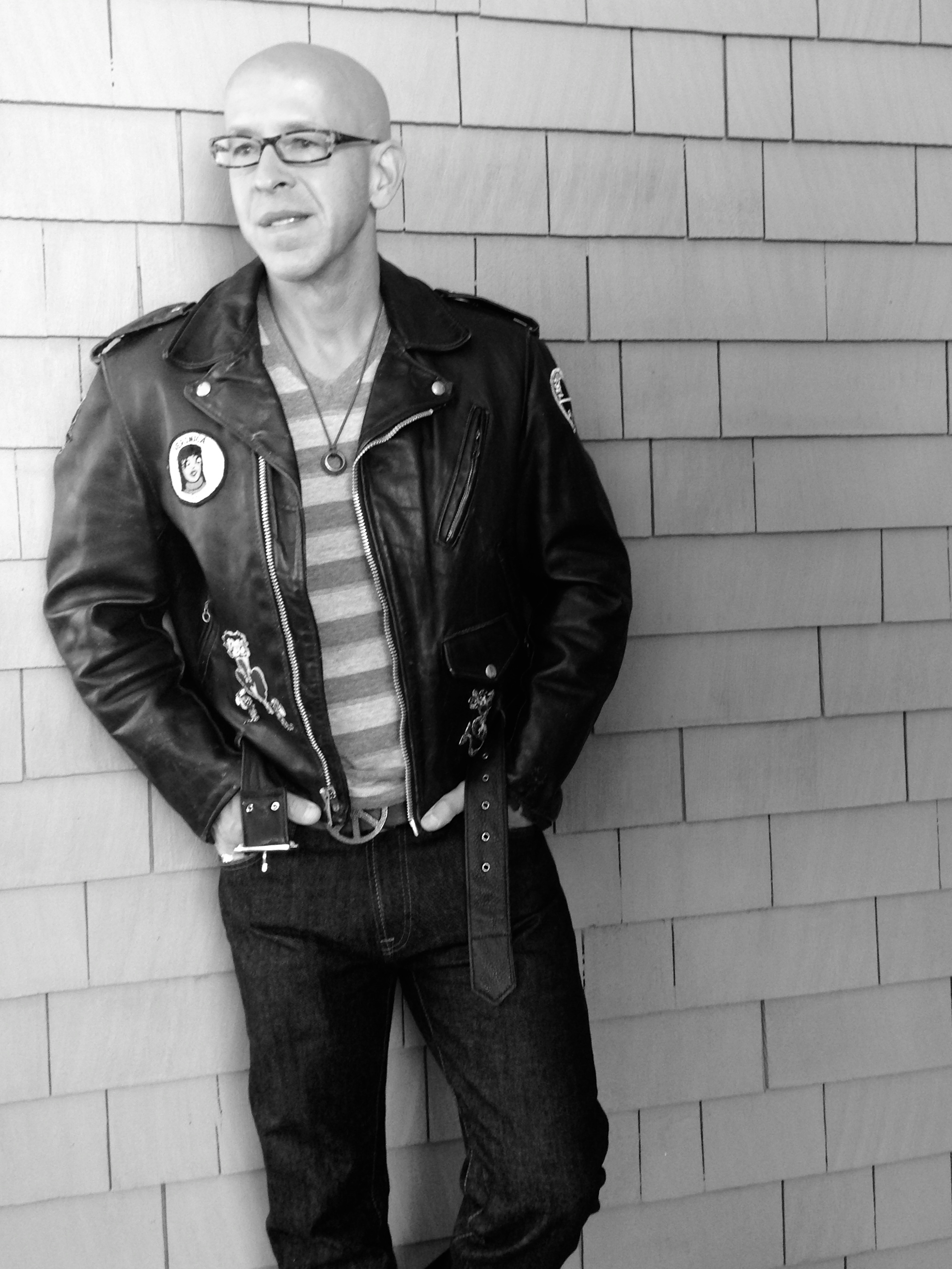 Leather jacket upkeep - For Though I Am A Father And A Copywriter When I Put On A Black Leather Jacket I Am Perfecto