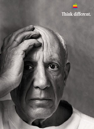 Picasso-Apple-Think-Different
